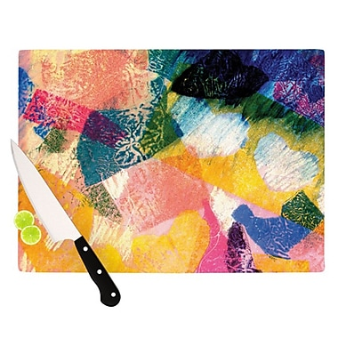 KESS InHouse Texture Cutting Board; 11.5'' H x 15.75'' W
