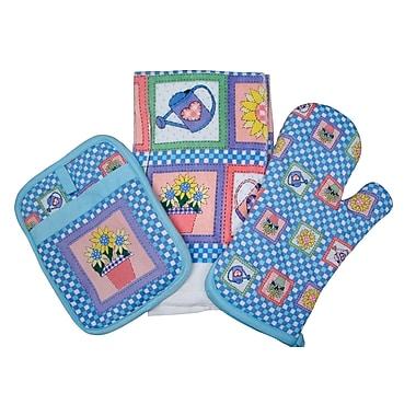 Textiles Plus Inc. Spring Bouquet Kitchen Set
