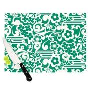 KESS InHouse Esmerald Cutting Board; 11.5'' H x 8.25'' W