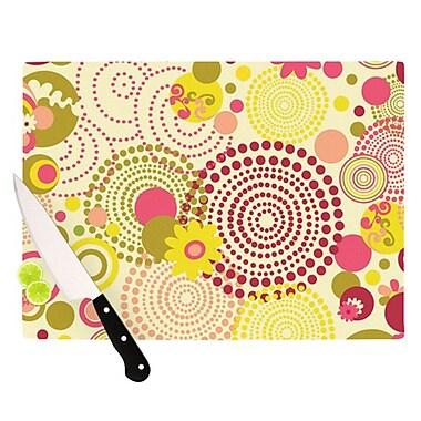 KESS InHouse Poa Cutting Board; 11.5'' H x 8.25'' W