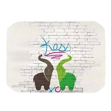 KESS InHouse Elephants Placemat