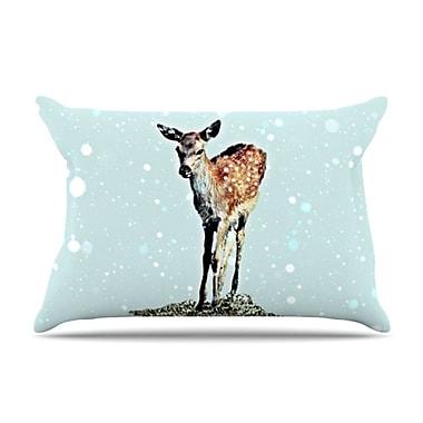 KESS InHouse Fawn Pillowcase; Standard
