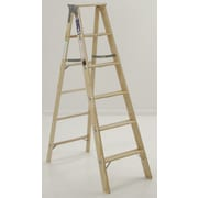 Michigan Ladder 5.08 ft Wood Step Ladder w/ 300 lb. Load Capacity