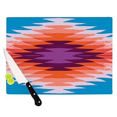 KESS InHouse Surf Lovin Hawaii Cutting Board; 11.5'' H x 8.25'' W