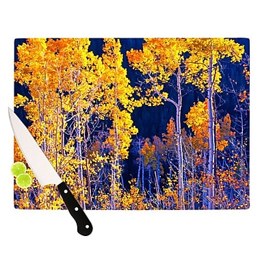 KESS InHouse Trees Cutting Board; 11.5'' H x 15.75'' W