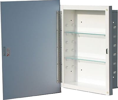 American Pride Hide Away 16'' W x 22'' H Wall Mounted - Recessed Cabinet