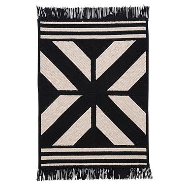 Colonial Mills Sedona Black Area Rug; Rectangle 7' x 9'