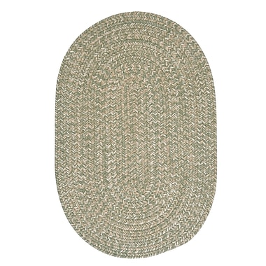 Colonial Mills Tremont Palm Area Rug; Oval 2' x 3'