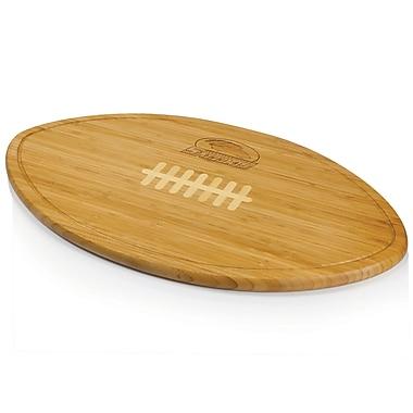 Picnic Time NCAA Kickoff Wood Cutting Board; Southern Illinois University Salukis