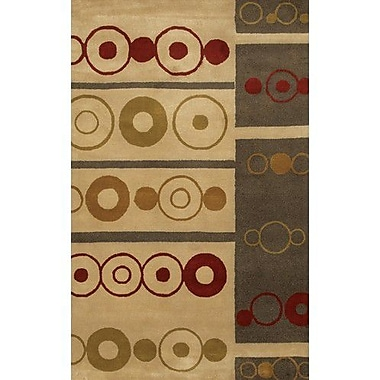 Chandra Dream Brown/Tan Area Rug; 2' x 3'
