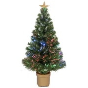 Jolly Workshop 2' 8'' Green Artificial Christmas Tree w/ 20 LED Lights