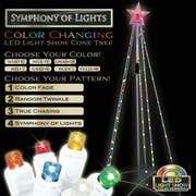 Brite Star Light Show Cone Tree Christmas Decoration
