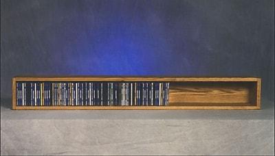 Wood Shed 100 Series 118 CD Multimedia Tabletop Storage Rack; Natural