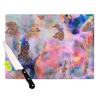KESS InHouse Sparkle Mist Cutting Board; 11.5'' H x 15.75'' W