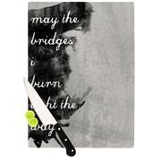 KESS InHouse Bridges Cutting Board; 11.5'' H x 8.25'' W