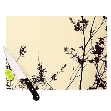 KESS InHouse Silhouette Cutting Board; 11.5'' H x 8.25'' W
