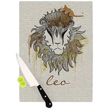 KESS InHouse Leo Cutting Board; 11.5'' H x 8.25'' W x 0.25'' D