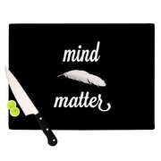 KESS InHouse Mind Over Matter Cutting Board; 11.5'' H x 8.25'' W