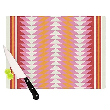 KESS InHouse Bomb Pop Cutting Board; 11.5'' H x 15.75'' W