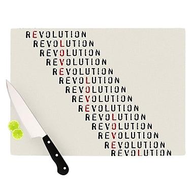 KESS InHouse Revolution Cutting Board; 11.5'' H x 15.75'' W