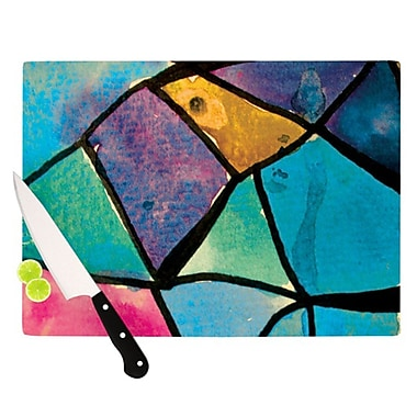 KESS InHouse Stain Glass 2 Cutting Board; 11.5'' H x 15.75'' W