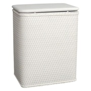 Redmon for Kids Chelsea Pattern Laundry Hamper; Cream