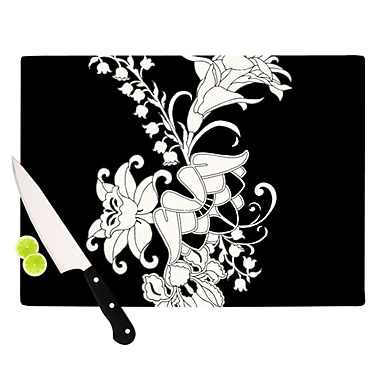 KESS InHouse My Garden Cutting Board; 11.5'' H x 8.25'' W