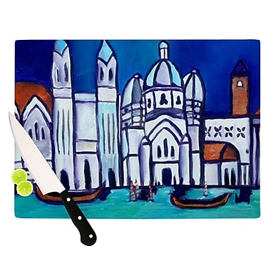 KESS InHouse Venice Cutting Board; 11.5'' H x 8.25'' W