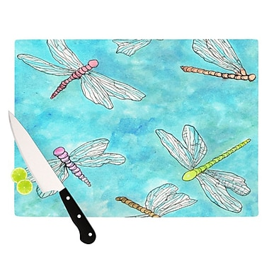 KESS InHouse Dragonfly Cutting Board; 11.5'' H x 15.75'' W