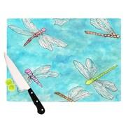 KESS InHouse Dragonfly Cutting Board; 11.5'' H x 8.25'' W