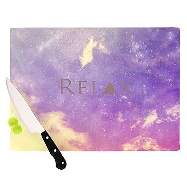 KESS InHouse Relax Cutting Board; 11.5'' H x 8.25'' W