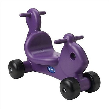 CarePlay Squirrel Push/Scoot Ride-On; Purple