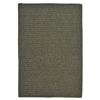 Colonial Mills Courtyard Olive Rug; Square 12'