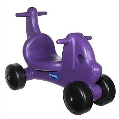 CarePlay Puppy Dog Push/Scoot Ride-On; Purple