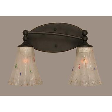 Toltec Lighting Capri 2-Light Vanity Light