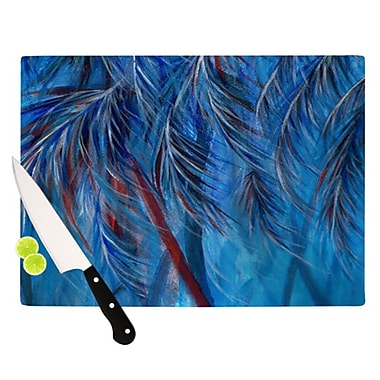 KESS InHouse Tropical Cutting Board; 11.5'' H x 15.75'' W