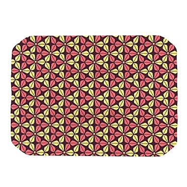 KESS InHouse Infinite Flowers Placemat; Red