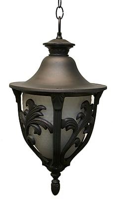 Melissa Tuscany 4-Light Outdoor Hanging Lantern; Old Iron