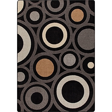Milliken Mix and Mingle Onyx in Focus Rug; 7'8'' x 10'9''