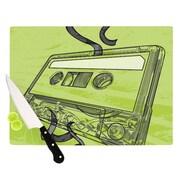 KESS InHouse Mixtape Cutting Board; 11.5'' H x 8.25'' W