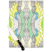 KESS InHouse Wormland Cutting Board; 11.5'' H x 8.25'' W