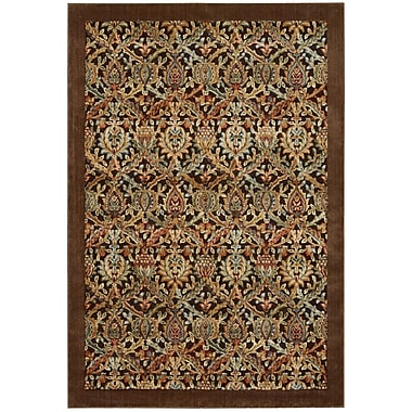 Nourison Illusions Chocolate Area Rug; 7'9'' x 10'10''