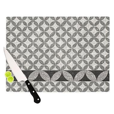 KESS InHouse Diamond Cutting Board; 11.5'' H x 8.25'' W