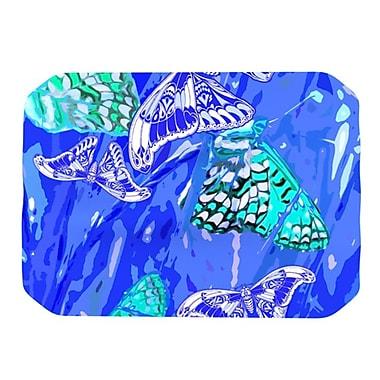 KESS InHouse Butterflies Party Placemat; Blue