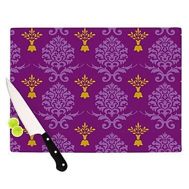 KESS InHouse Crowns Cutting Board; 11.5'' H x 15.75'' W