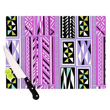 KESS InHouse American Blanket Pattern II Cutting Board; 11.5'' H x 8.25'' W
