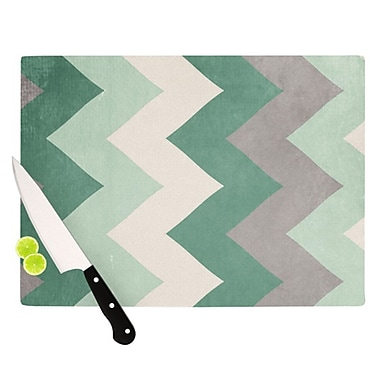 KESS InHouse Winter Cutting Board; 11.5'' H x 15.75'' W x 0.15'' D