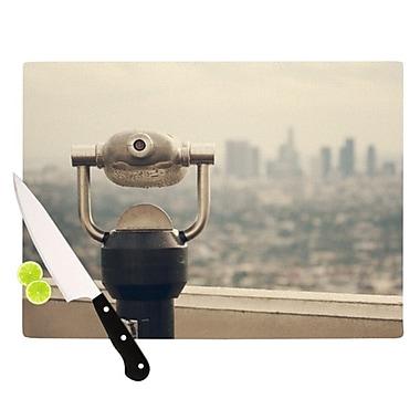 KESS InHouse The View LA Cutting Board; 11.5'' H x 15.75'' W x 0.15'' D