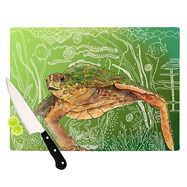 KESS InHouse Shelley Cutting Board; 11.5'' H x 8.25'' W x 0.25'' D