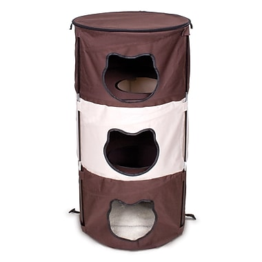 Ware Manufacturing 37'' Pop-Up 3 Level Kitty Cat Condo